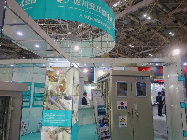 淀川変圧器_電設工業展2